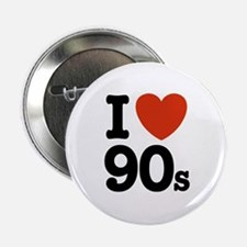 I Love 90s Button