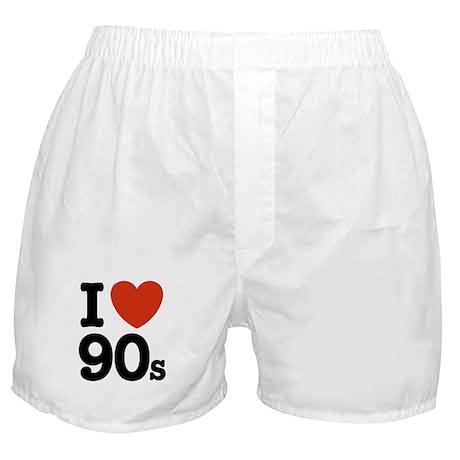 I Love 90s Boxer Shorts