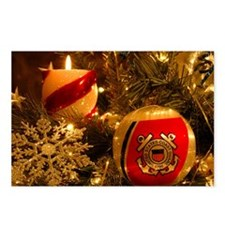 Coast Guard Christmas Postcards (Package of 8)