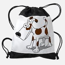 Funny Dog Drawstring Bag