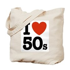 I Love 50s Tote Bag