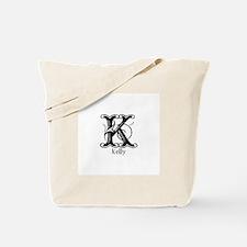 Kelly: Fancy Monogram Tote Bag