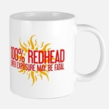 100% Redhead - Over Exposure Mugs
