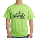 Could Be Scrapbooking Green T-Shirt