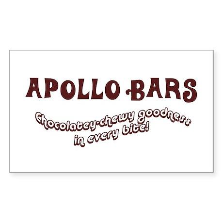 Apollo Bars Rectangle Sticker