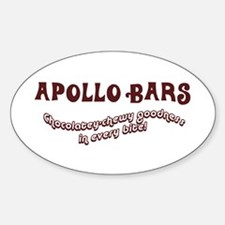 Apollo Bars Oval Decal