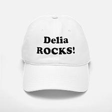 Delia Rocks! Baseball Baseball Cap