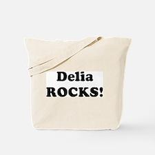 Delia Rocks! Tote Bag
