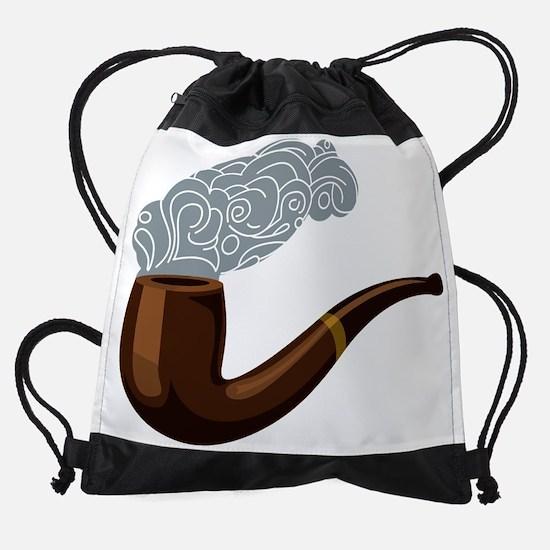 Smoking Pipe Drawstring Bag