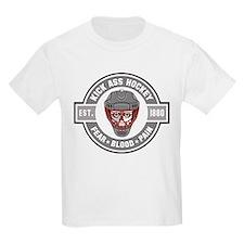 Kick Ass Hockey Kids T-Shirt