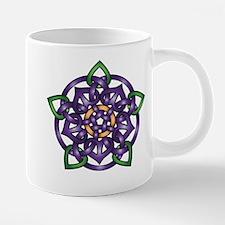 Purple Celtic Rose Mugs