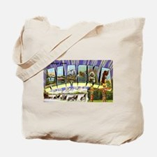 Alaska Greetings Tote Bag