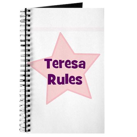Teresa Rules Journal