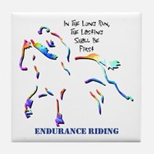 Endurance Riding Tile Coaster