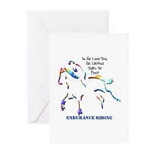 Endurance Riding Greeting Cards (Package