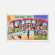Arizona Greetings Rectangle Magnet