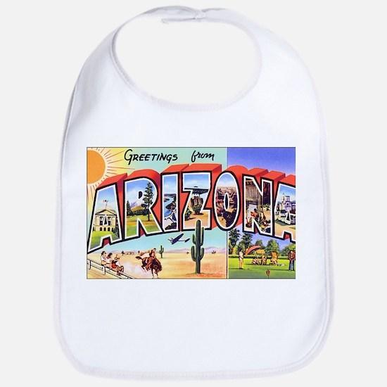 Arizona Greetings Bib