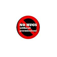 """No Hugs Without Permission"" Consent Culture Mini"