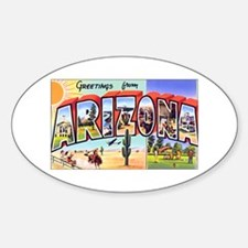 Arizona Greetings Oval Decal