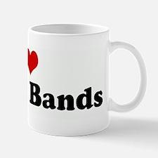 I Love Garage Bands Mug