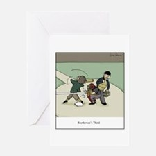 Unique Beethoven Greeting Card