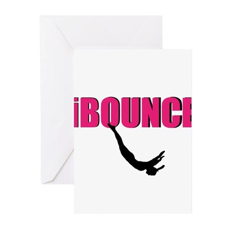 Trampoline Sport Greeting Cards (Pk of 20)