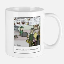 One Two Three Four Mugs