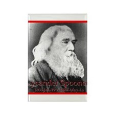 Lysander Spooner Rectangle Magnet