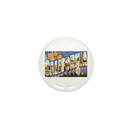 California Greetings Mini Button (10 pack)