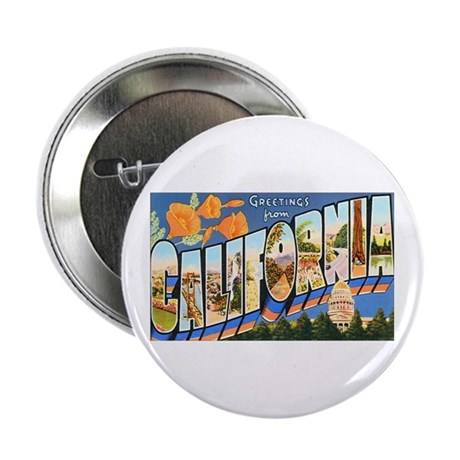 California Greetings Button