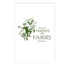 All my friends are fairies -  Postcards (Package o