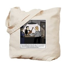 Cute Criminal investigation Tote Bag