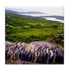 Irish Coast Tile Coaster