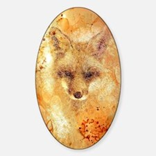 Cute Animal texture Sticker (Oval)