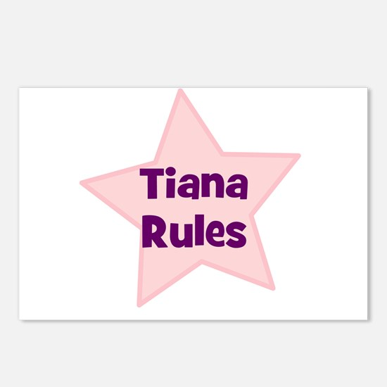 Tiana Rules Postcards (Package of 8)