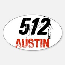 512 Oval Decal