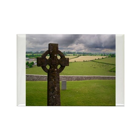 Celtic Cross I Rectangle Magnet