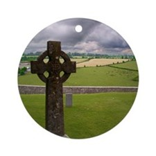 Celtic Cross I Ornament (Round)