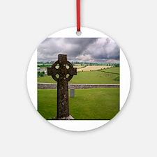 Celtic Cross I Ornament (Round)