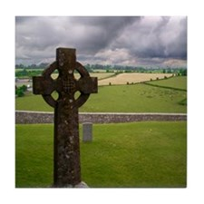 Celtic Cross I Tile Coaster