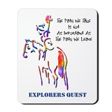 Explorers Quest Mousepad