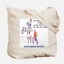 Explorers Quest Tote Bag
