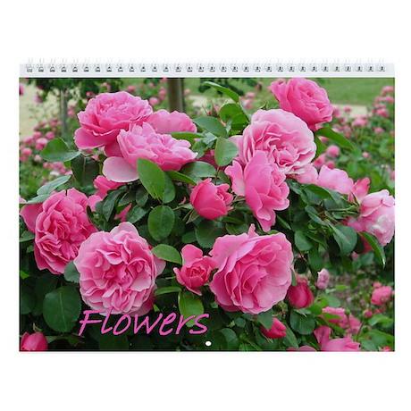 Flowers 3 Wall Calendar