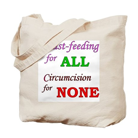 """""""B/F for ALL, C for NONE"""" Tote Bag"""