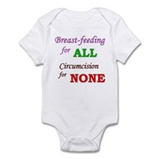 """""""B/F for ALL, C for NONE"""" Infant Bodysuit"""
