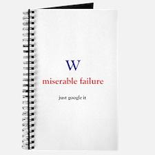 W miserable failure Journal