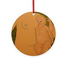 nummies au natural  Ornament (Round)