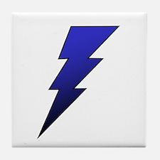 The Lightning Bolt 4 Shop Tile Coaster