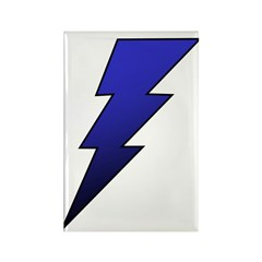 The Lightning Bolt 4 Shop Rectangle Magnet (100 pa