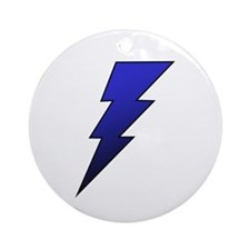 The Lightning Bolt 4 Shop Ornament (Round)